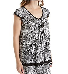 Ellen Tracy Yours to Love Short Sleeve Top 8415331