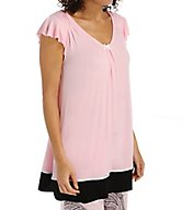 Ellen Tracy Romantic Spirit Short Sleeve Top 8415451