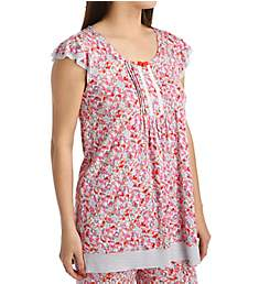 Ellen Tracy Singapore Short Sleeve Top 8415469