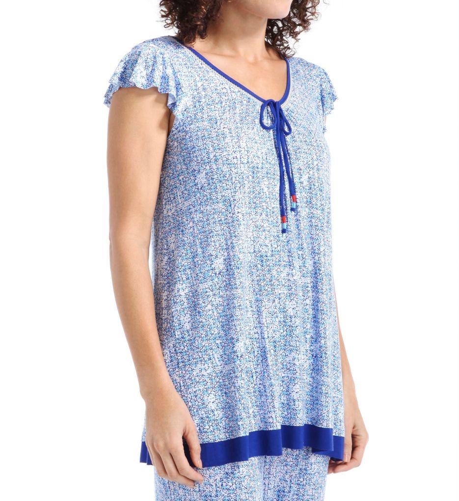 Ellen Tracy Morocco Short Sleeve Top 8415470