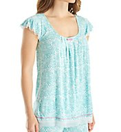Ellen Tracy Coastal Charm Short Sleeve Top 8418502