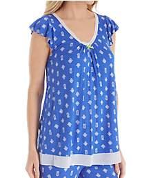 Ellen Tracy Summer Short Sleeve Top 8418634