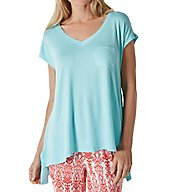 Ellen Tracy Hot in Havana Short Sleeve Top 8518527