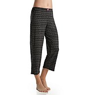 Ellen Tracy Beachside Bonfire Cropped Pant 8618498