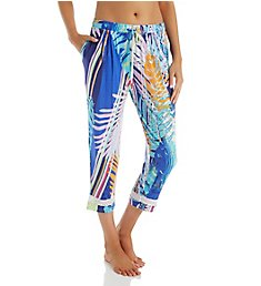 Ellen Tracy Palm Beach Crop Pant 8618635