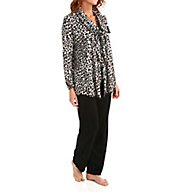 Ellen Tracy Some Like it Cozy Long Sleeve Wrap Set 8815452