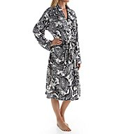 Ellen Tracy Fleece Wrap Robe 8818464