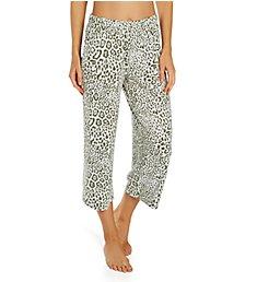 Ellen Tracy Feel Good Jersey Cropped Wide Leg Pant 8823042