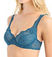 else Lingerie Crochet Lace Underwire Plunge Full Cup Bra EC-323B