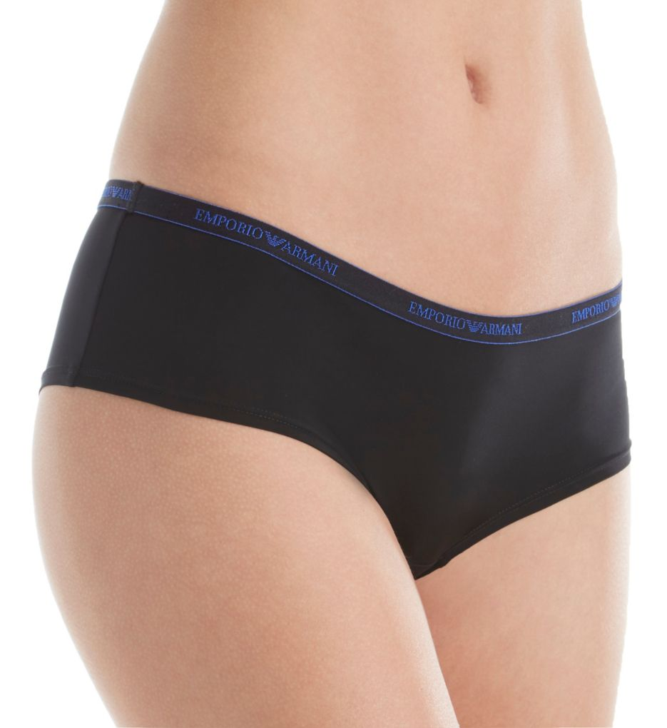 Emporio Armani Visibility Iconic Microfiber Cheeky Panty 163225VM