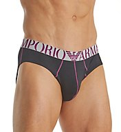 Emporio Armani Body Mapping Brushed Microfiber Brief 8146A529