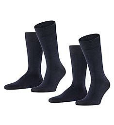 Falke Happy Crew Sock - 2 Pack 14610