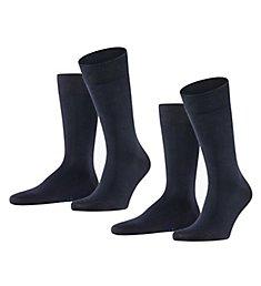 Falke Happy Crew Sock - 2 Pack 14610