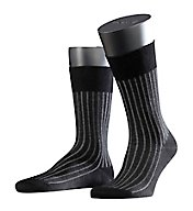 Falke Shadow 2-Color Effect Rib Stripe Sock 14648
