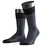 Falke Shadow 2-Color Effect Rib Stripe Sock 14648