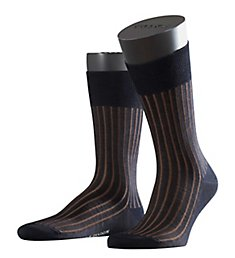 Falke Shadow Mercerized Cotton Ribbed Sock 14648