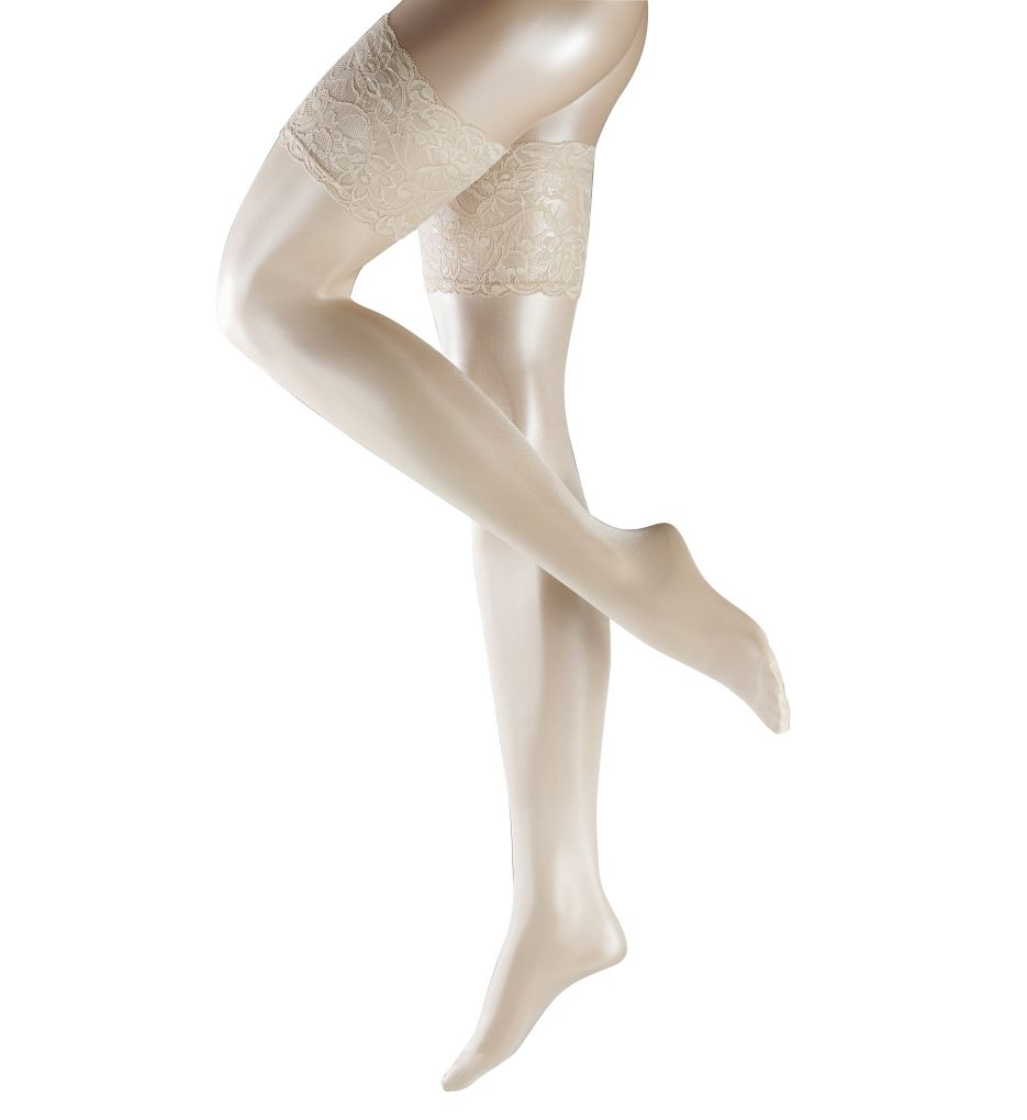 Falke Seidenglatt 15 Transparent Stay Up Thigh Highs 41584