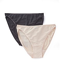 Felina So Smooth Hi Cut Panties - 2 Pack 901PPK