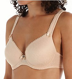 Fit Fully Yours Jacquard Dream Underwire T-Shirt Bra B4383
