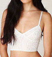 Free People Stretch Lace Longline Bralette F715151