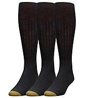 Gold Toe Windsor Wool Over The Calf Dress Socks - 3 Pack 1446H