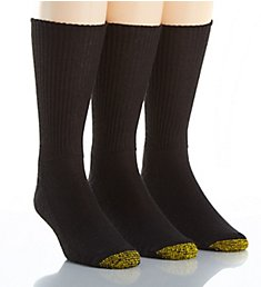 Gold Toe Fluffies Casual Crew Socks - 3 Pack 2057S