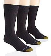 Gold Toe Canterbury Crew Dress Socks - 3 Pack 794S