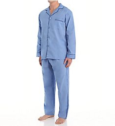 Hanes Big Man Classics Broadcloth Woven Pajama Set 4016B