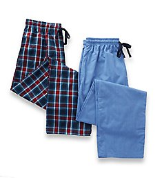 Hanes Woven Plaid Pants - 2 Pack 4025A