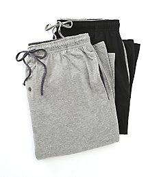 Hanes Tall Man Classics 100% Cotton Knit Pant - 2 Pack 4047T