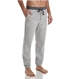 Hanes Tall Man Solid Cotton Fleece Jog Pant 4221T