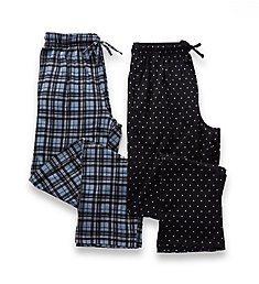 Hanes Big Man X-Temp Knit Lounge Pants - 2 Pack 4227B