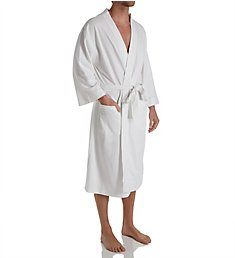 Hanes Tall Man Solid Waffle Knit Spa Robe 5071T