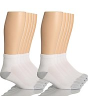 Hanes Classic Super Soft Cotton Ankle Socks - 10 Pack 86-10