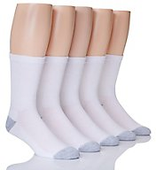 Hanes X-Temp Comfort Cool Crew Socks - 5 Pack U10-5