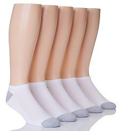 Hanes X-Temp Comfort Cool No Show Socks - 5 Pack U20-5