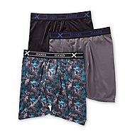 Hanes Ultimate X-Temp Performance Boxer Briefs - 3 Pack UPBBA3