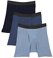 Hanes X-Temp Cotton Performance Boxer Briefs - 3 Pack UTB1A3