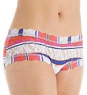Hanky Panky Pattern Boyshort Panty 4812PTN