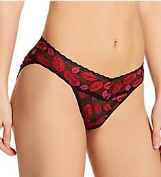 Hanky Panky Signature Lace Pattern V-kini Panty 482374P