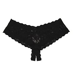 Hanky Panky After Midnight Lace Crotchless Hipster Panty 482921