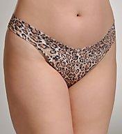 Hanky Panky Leopard Nouveau Plus Size Original Rise Thong 4X1181X