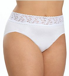 Hanky Panky Supima Cotton Plus Size Brief Panty 892461X