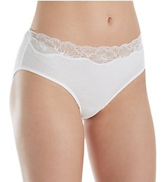 Hanro Lace Delight Hi-Cut Brief Panty 71378