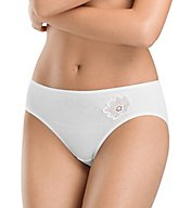 Hanro Rosalie Hi Cut Brief Panty 72333