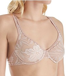 Hanro Lace Illusion Underwire Bra 72502