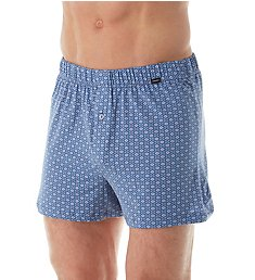 Hanro Elias Cotton Stretch Knit Boxer 74039