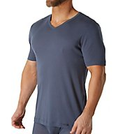 Hanro Eric 100% Cotton V Neck T-Shirt 74057