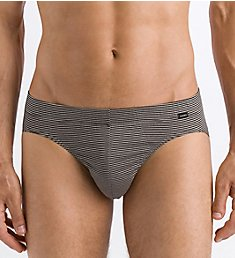 Hanro Sporty Stripe Jersey Cotton Brief 74080
