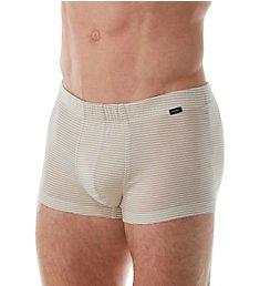 Hanro Sporty Stripe Mercerized Cotton Boxer Brief 74081